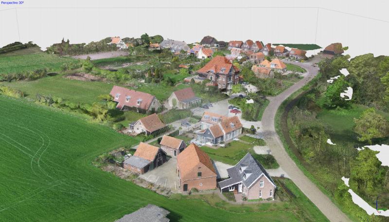 3D modellen dakvormen